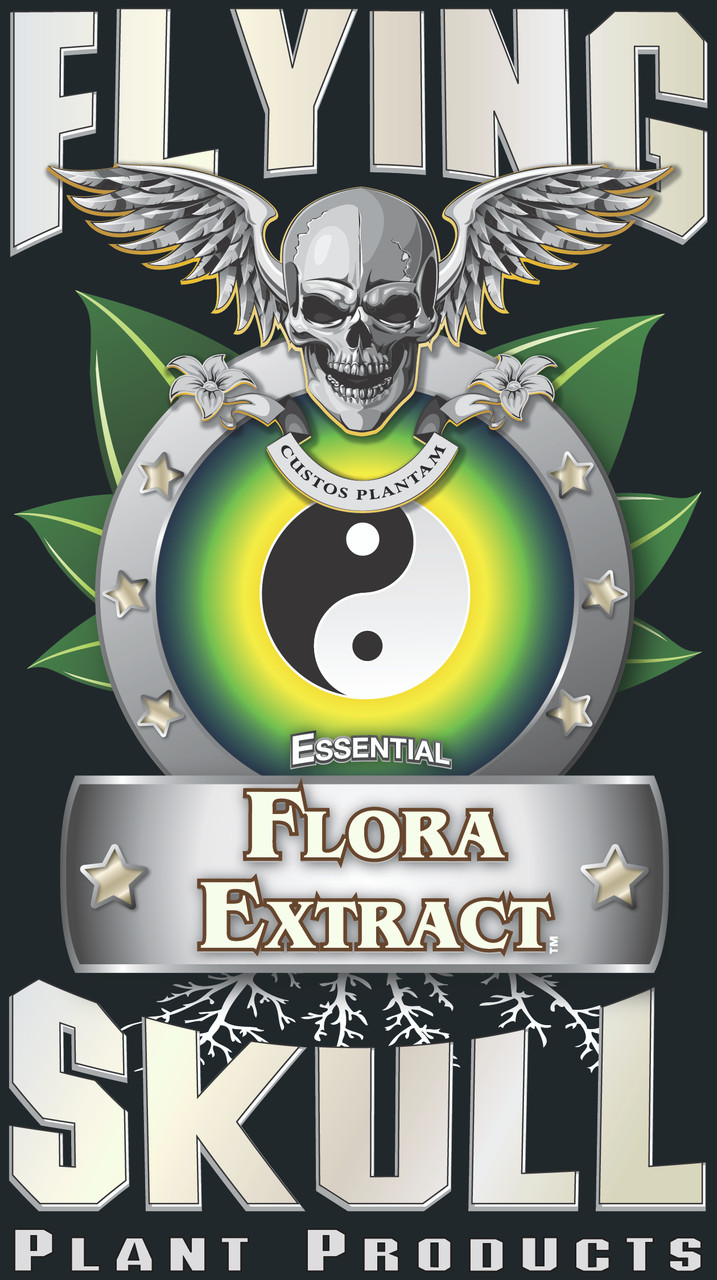 Flying Skull Essential Flora Extract Product Logo