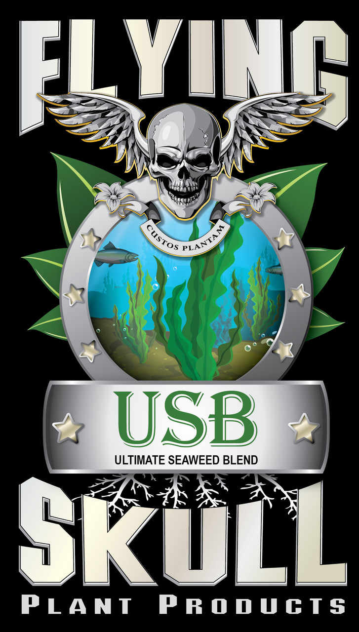 Flying Skull USB Ultimate Seaweed Blend Product Logo
