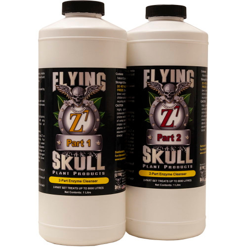 Flying SKull Z7 Enzyme Cleanser 1 litre Bottles Set