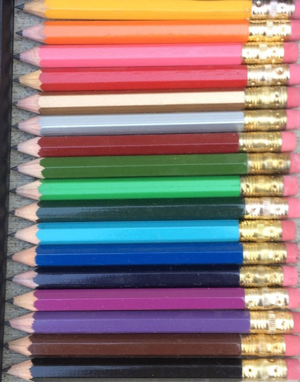 Personalized Golf Pencils With Erasers