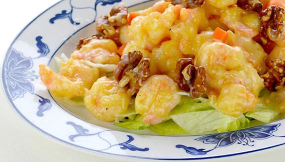 Coconut Walnut Shrimp