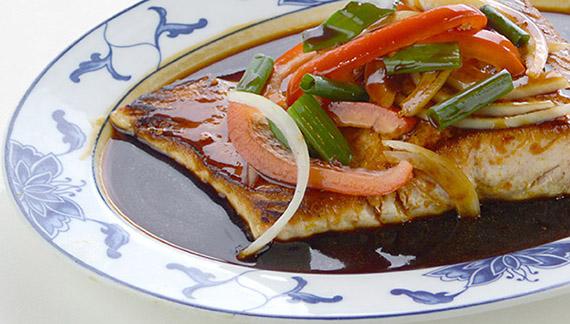 Seasoned Fish Garlic Sauce
