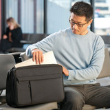 Man with Philips Respironics CPAP Travel Briefcase