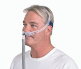 Man wearing a ResMed Swift FX Nasal Mask