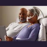 Philips Respironics Nasal Pillows Mask with Headgear - DreamWear Silicone