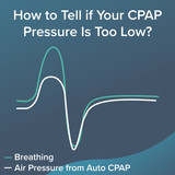 How to Tell if Your CPAP Pressure is Too Low & Next Steps