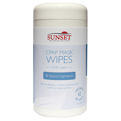 Sunset CPAP Mask Cleaning Wipes Canister