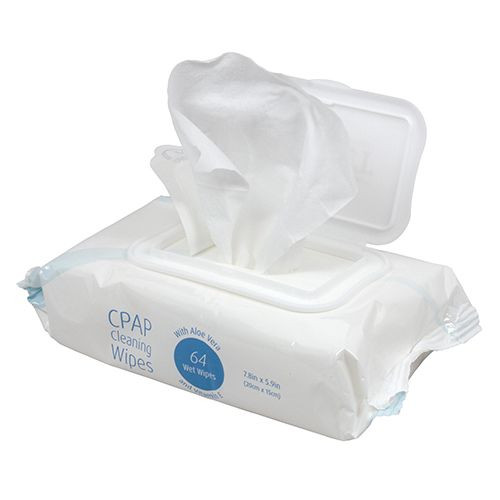 Sunset CPAP Mask Cleaning Wipes Flowpack
