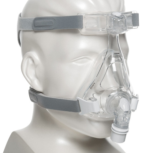 Philips Respironics Full Face Mask with Headgear - Amara Gel