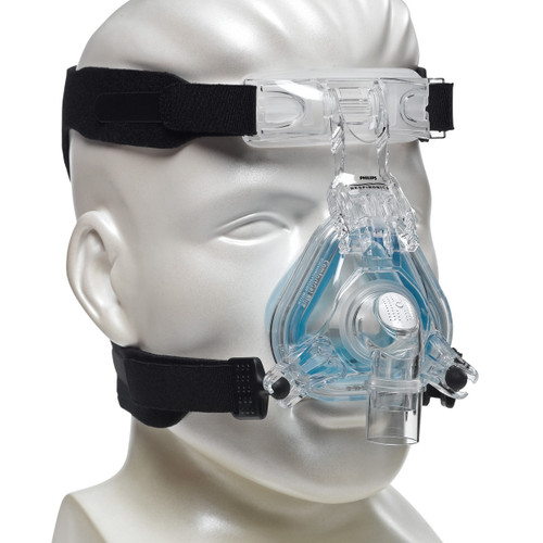 Philips Respironics Nasal Mask with Headgear - ComfortGel Blue
