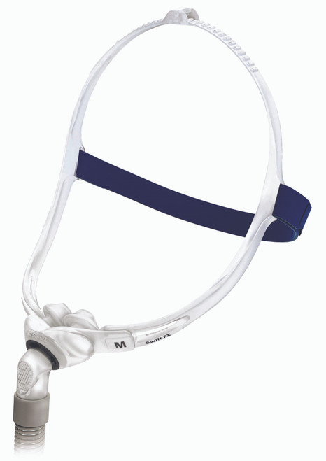 Closeup view of ResMed Swift FX Nasal Mask