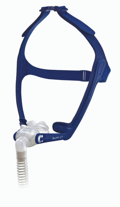 Closeup view of ResMed Swift LT Nasal Mask