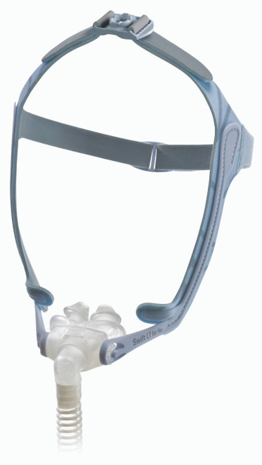 Left view of ResMed Swift LT For Her Nasal Mask