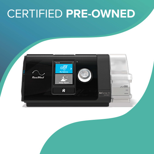 *Certified Pre-Owned* ResMed AirSense 10 AutoSet with HumidAir Heated Humidifier