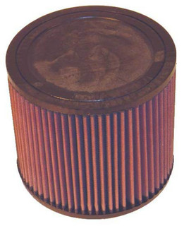 K&N Universal Air Filter - Round Straight 4in Flange ID x 7in OD x 6in Height