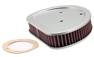 K&N Replacement Air Filter 1.625in H for Harley Davidson