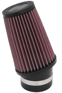 K&N Universal Custom Air Filter - Round Tapered 4in Base OD x 3in Top OD x 6in H