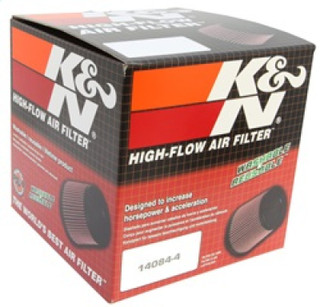 K&N Universal Tapered Filter 2.75in Flange ID x 5.0625in Base OD x 3.5in Top OD x 4in Height