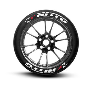 Nitto Racing Tire Lettering