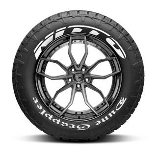 Nitto Dune Grappler Tire Lettering