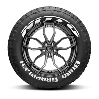 Nitto Dura Grappler Tire Lettering