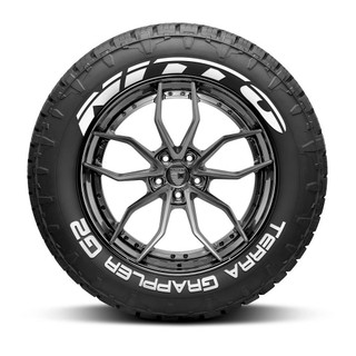 Nitto Terra Grappler G2 Tire Lettering