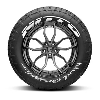 Nitto Mud Grappler Tire Lettering