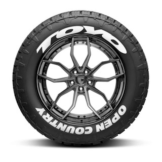 Toyo Open Country Tire Lettering