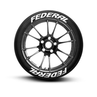 Federal Tire Lettering Tire Stickers