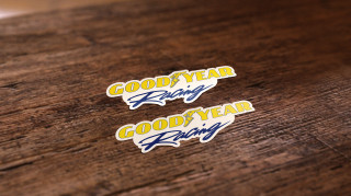 Goodyear Racing Sticker