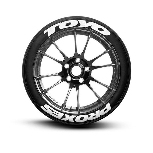 toyo proxes tire lettering set of 8 tire decals