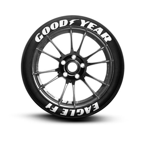 Goodyear Eagle F1 Tire Lettering Performance Tire Decals Tiregraficx