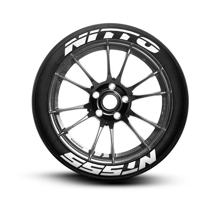 Nitto Tires With White Lettering >> Nitto Nt555 Tire Lettering Set Of 8 Tire Decals