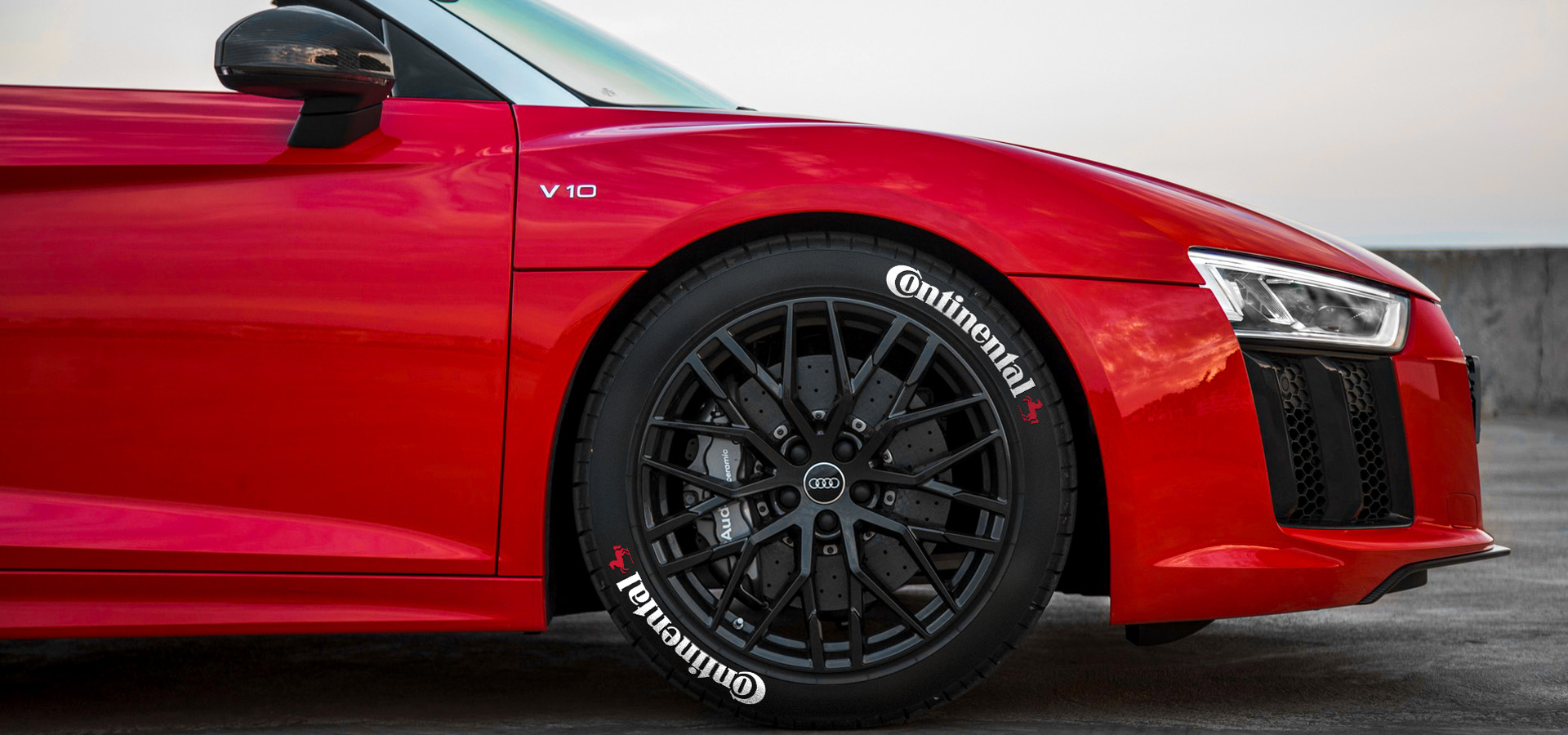 continental tire lettering stickers