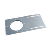 """4"""" New Construction Pre-mounting Plate - Ø4-3/8""""(110mm) Opening, 13-1/4""""(336mm) Long"""