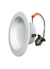 "4"" Round LED Economical Retrofit Recessed Light  dimmable 10W 700Lumen 4000K wet location  white finish"