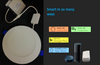 """Smart Lighting- 6"""" Round LED Slim Panel Round dimmable 14W IC Rated cETLus Listed Beam Angle 120Á White"""