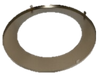 "Brushed Nickel Changeable Trim Ring for 6""  Round Slim Panel"