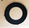 "Black Changeable Trim Ring for 6"" Round Slim Panel Light"