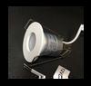 1 Inch Round LED Step Light 1W 3000K CRI80