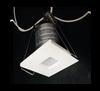 1 Inch Square LED Step Light 1W 27Lumens CRI80 White finish