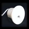 Round LED Asymmetric Wall Light, 1W,  60Lumens, 80CRI, White Finish