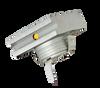 Square Mini Step and Wall Edge Light 1W 3000K 90Lumens DC12V brushed nickel