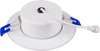 "4"" LED Gimbal Downlight, 9W, 700 Lumens, Color Selectable Between 3000K, 4000K and 5000K, Air-tight, White Finish"