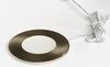 Round Ultra Slim LED Puck Light, Dimmable, 2.2W ,3000K, CRI90, 150 Lumens, Brushed Nickel Finish