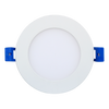 4 Inch Recessed LED Super Economical Slim Panel LED, Round, Dimmable, 9W, 550 Lm, CRI 80, Beam Angle 120°