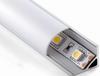 Silver anodized aluminum profile Size: W16*H16*2500mm