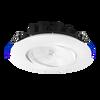 "6"" Round Regressed Gimbal, 18W, 5CCT(2700K, 3000K, 3500K, 4000K, 5000K), White"