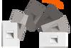 Mini Die-Cast LED Step Light, Dimmable, 2.5W, 3000K, 25 Lumens, CRI 80, Vertical or Horizontal (adjustable), White Finish