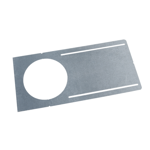 "6"" new construction pre-mounting plate with collar for use with screw down îCî style remodel housings"